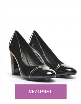 Pantofi Forni negri