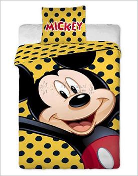 Lenjerie bumbac pentru copii Mickey