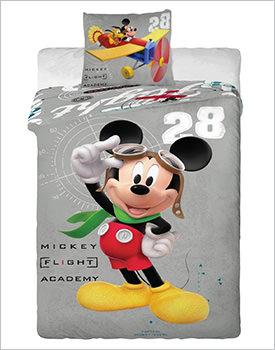 Lenjerii de pat Disney Mickey and plane