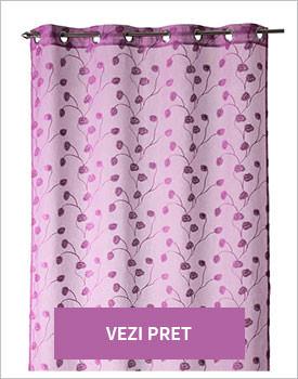 Perdea Araceli purple