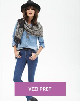 Forever21 high rise skinny jeans denim