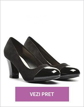 Pantofi Senona negri