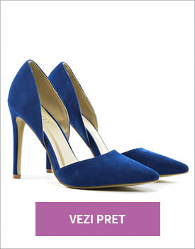 Pantofi Dablin albastri