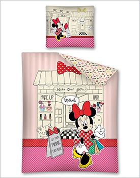Lenjerie pat Minnie Mouse