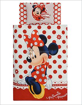 Lenjerie de pat pentru copii Minnie Mouse