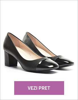 Pantofi Luna negri