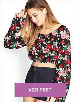 Forever21 Rose Print