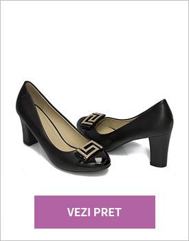 Pantofi eleganti dama negri Oria