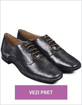 Pantofi din piele naturala Gregor