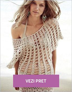 Rochie de plaja beige
