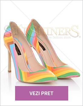 Pantofi Mineli Boutique Simplicity green