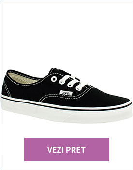 Tenisi unisex Vans Authentic negri