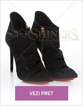 Pantofi Mineli Boutique Perfection black