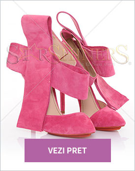 Pantofi Mineli Boutique Magical pink