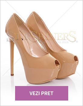 Pantofi Mineli Boutique Emotion cream
