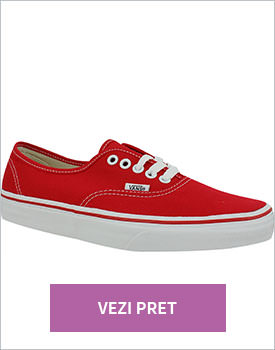 Tenisi unisex Vans Authentic rosii
