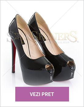 Pantofi Mineli Boutique Beloved black
