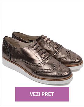 Pantofi din piele naturala Byron