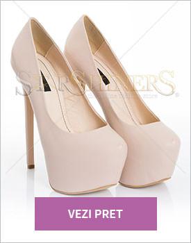 Pantofi Mineli Boutique Fantasy cream