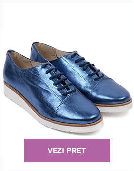 Pantofi din piele naturala Lena