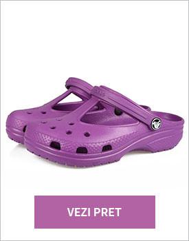 Papuci Candance violet