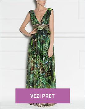 Rochie multicolora de seara Nissa
