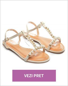 Sandale Perla bej