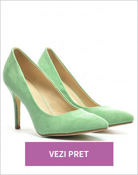 Pantofi Ginia verzi