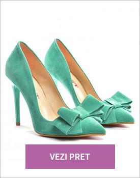 Pantofi Mares verzi