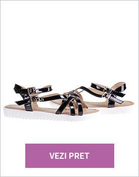 Sandale Ronne negre