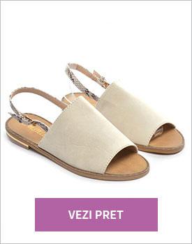 Sandale Tama bej