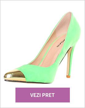 Pantofi Gas verde icecream