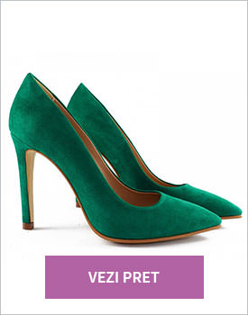 Pantofi stiletto Green Rebel