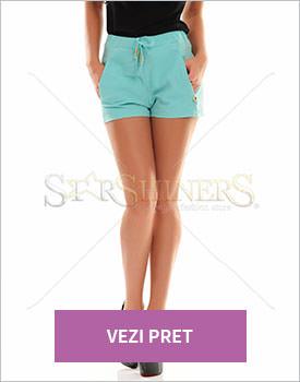 Pantaloni scurti PrettyGirl Sunny turquoise