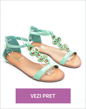 Sandale Romes verzi
