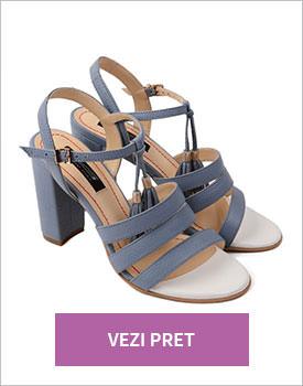 Sandale din piele naturala Amelia