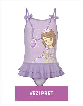 Costum de baie fete Disney Princess Sofia