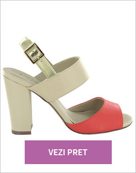 Sandale cu toc de dama Pacomena
