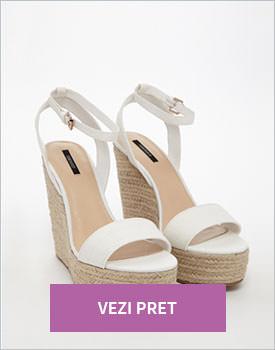 Sandale cu platforma inalta Forever21