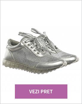 Pantofi sport Gego argintii