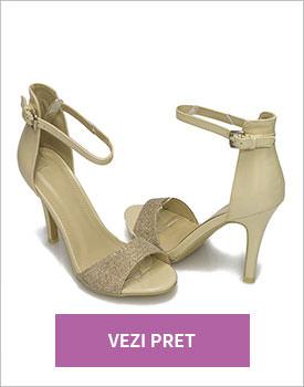 Sandale elegante bej Ferrara