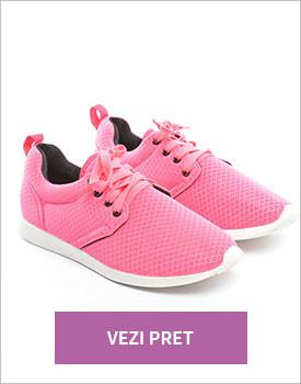 Pantofi sport Merlin roz