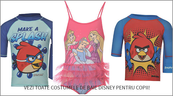 oferta costume de baie disney sports woomie