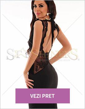 Rochie PrettyGirl Sensual Match neagra