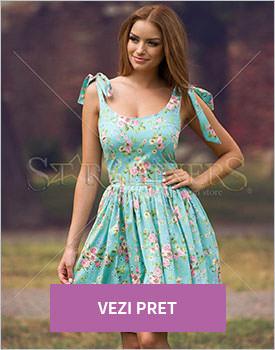 Rochie PrettyGirl Artless verde