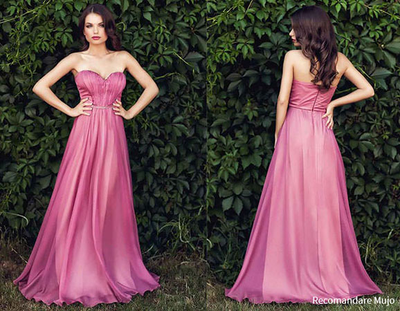 Rochie Elisse roz