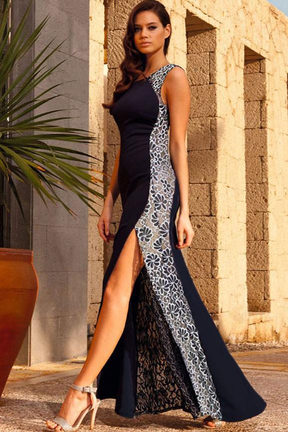 rochie lace side
