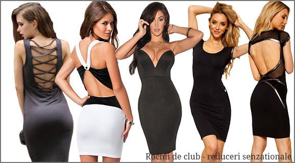 rochii de club reduceri senzationale