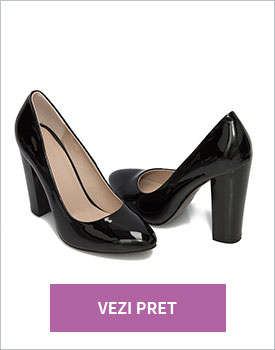 Pantofi eleganti dama negri Daisy