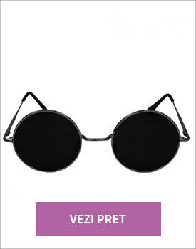 Ochelari de soare cu lentile rotunde polarizati